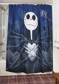 Nightmare Before Christmas Moonlight Madness Shower Curtain-
