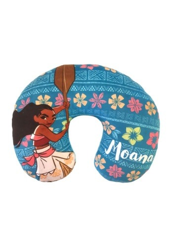 Moana Flower Travel Neck Pillow