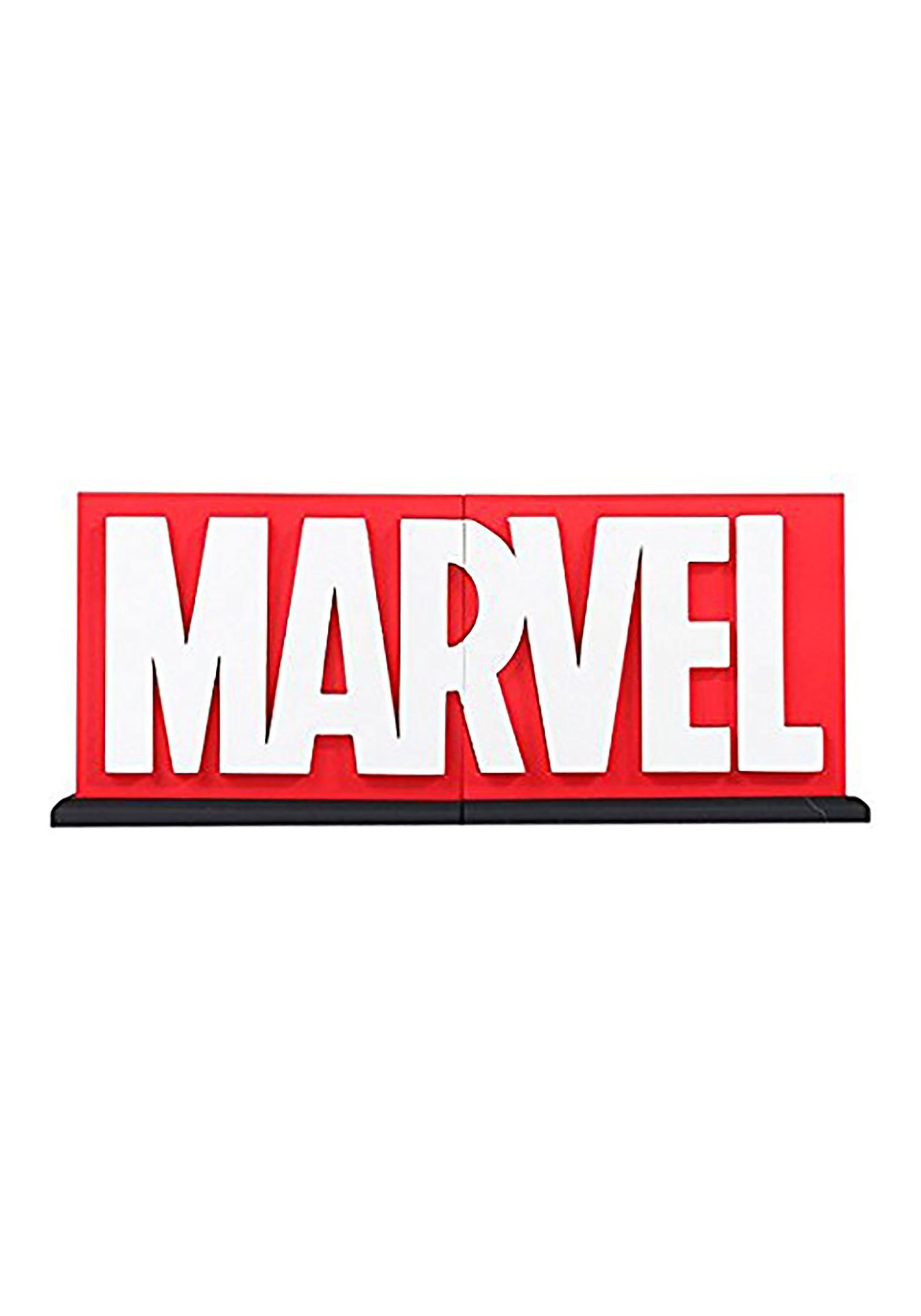 bb223255e538c Marvel Comic Logo Bookends