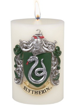 Harry Potter Slytherin Sculpted Insignia Candle