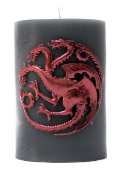 Game of Thrones Targaryen Sigil Insignia Candle