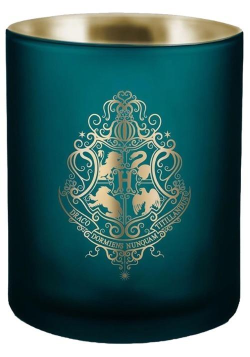 Harry Potter Hogwarts Glass Candle