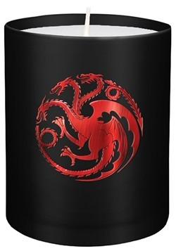 Game of Thrones House Targaryen Glass Candle Update Main