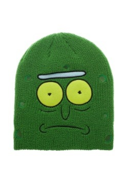 Pickle Rick Rick and Morty Green Slouch Beanie