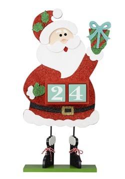 Christmas Countdown Santa Table Top Décor
