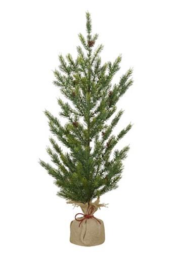 "36"" Burlap Base Christmas Pine Tree"