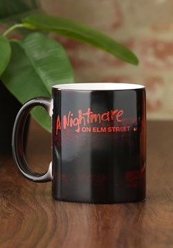 A Nightmare on Elm Street Glove & Shirt Morphing Mug