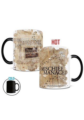 Harry Potter Marauders Map Morphing Mug