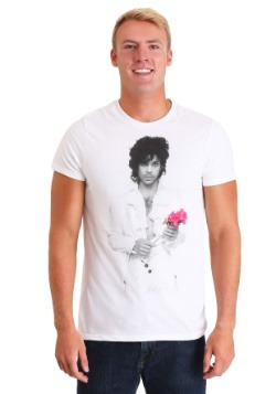 Men's Prince Red Rose White T-Shirt