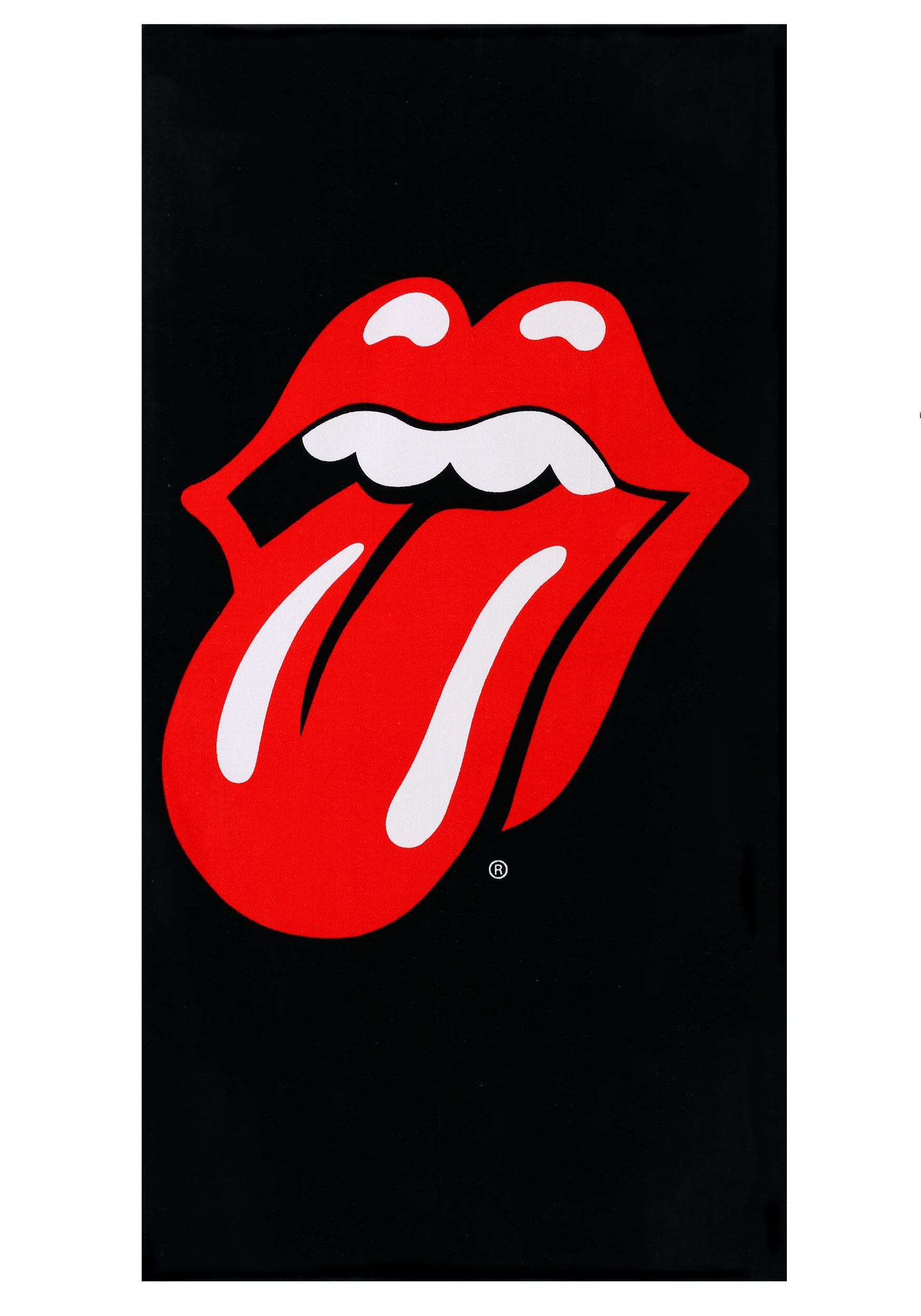 4084bcd83e66d Rolling Stones Tongue Logo Beach Towel