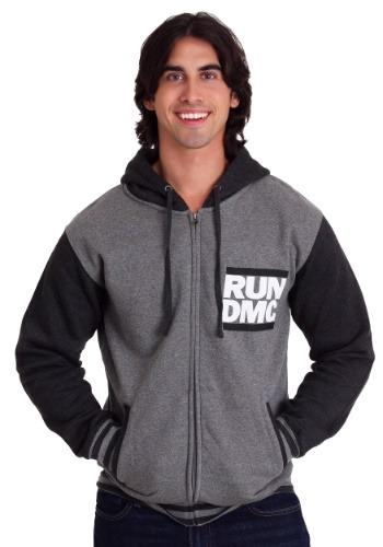 Men's RUN DMC Logo Varsity Hoodie