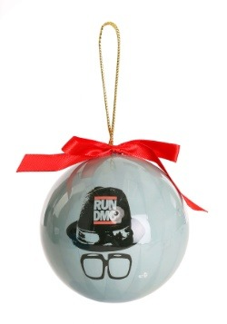 RUN DMC Christmas Ornament