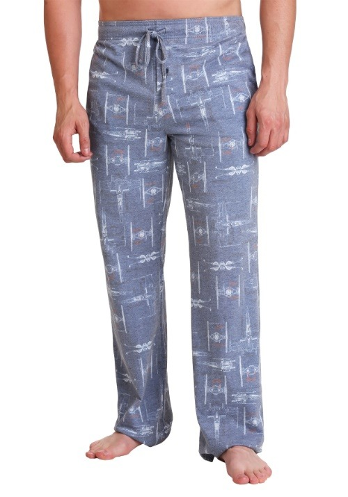 Star Wars X-Wing Schematics Men's Lounge Pants