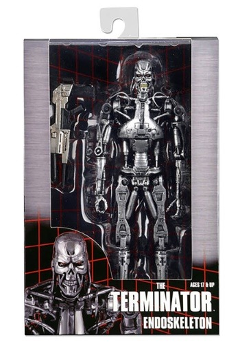 "Terminator 7"" Scale Endoskeleton Action Figure"