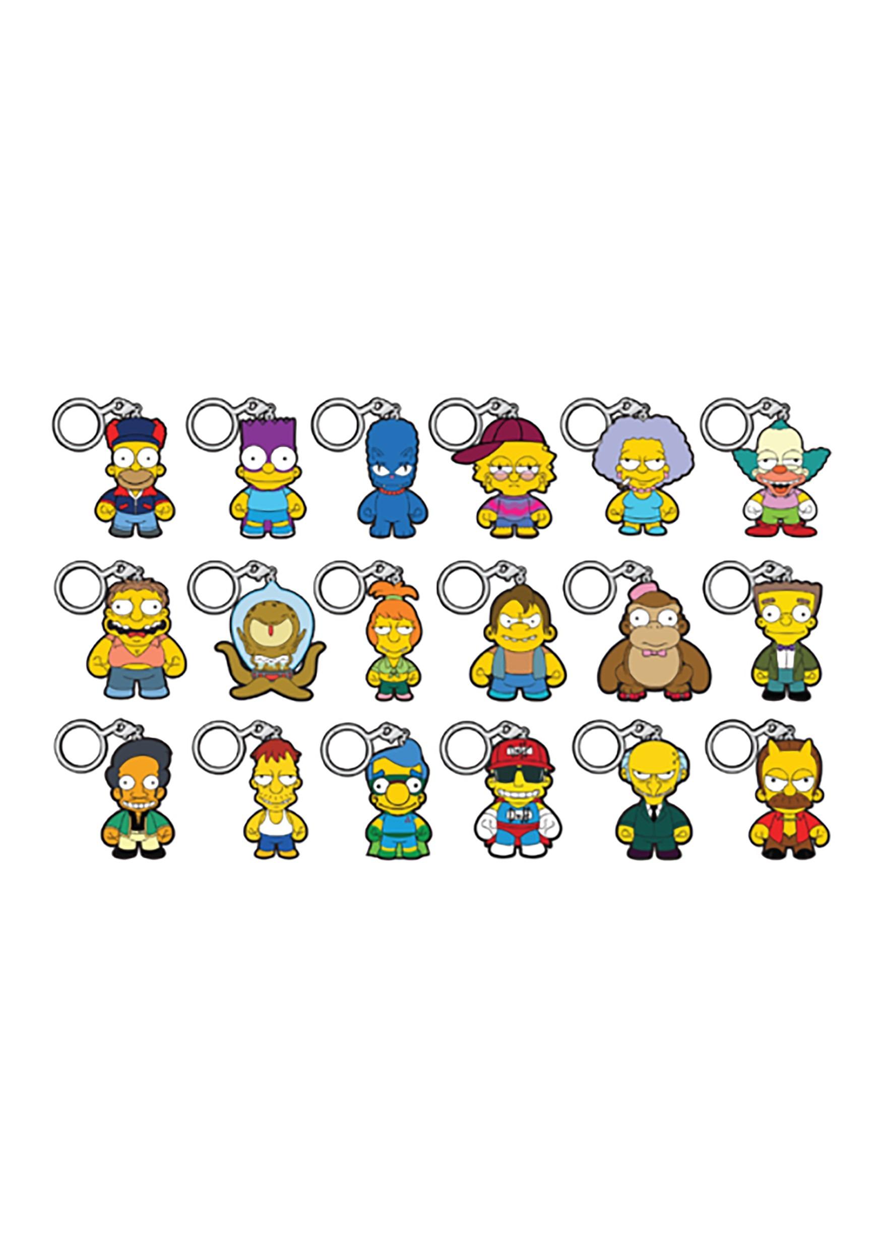 The Simpsons Crap-Tacular Keychain Series Blindbox