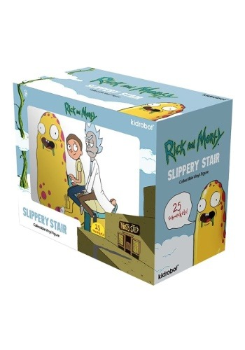 Rick & Morty Slippery Stair Medium Figure