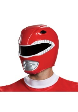 Adult Red Ranger Helmet