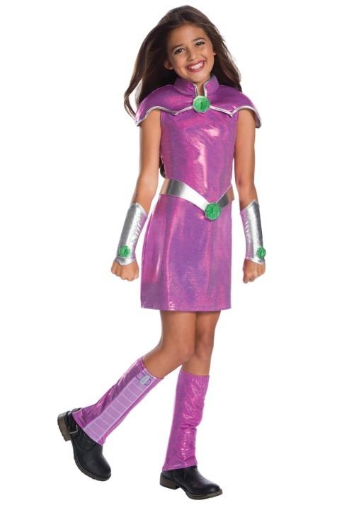 DC Superhero Girls Deluxe Starfire Costume