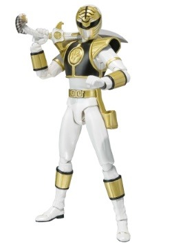 White Ranger Tamashii Nations Bandai SH Figurats Action Figu