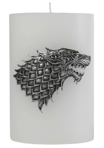 Game of Thrones Stark Sigil Insignia Candle