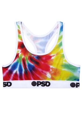PSD Underwear- Tie Dye Women's Sports Bra