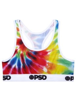 PSD Underwear- Tie Dye Women's Sports Bra