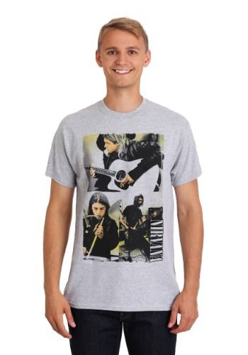 Nirvana Photo Collage Shirt