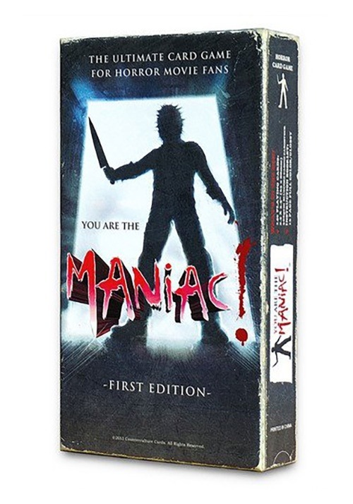 You are the Maniac! Card Game