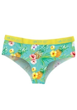 Two Left Feet Island Paradise Tropical Print Women's Hipster