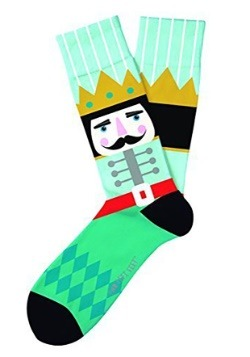 Two Left Feet Nutcracker Adult Socks