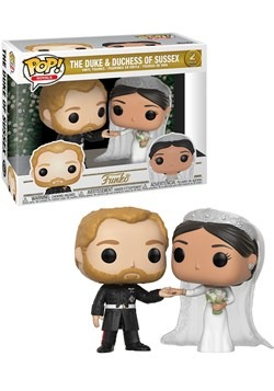 Pop! Royal- Duke & Duchess of Sussex 2-Pack
