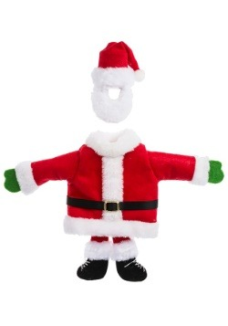 Santa Suit Wine Bottle Snuggler