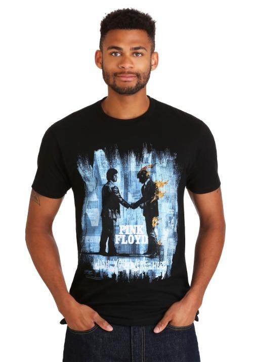 Pink Floyd Wish You Were Here Black Men's T-Shirt