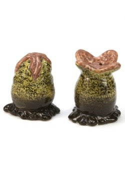 Alien Egg Salt & Pepper Shakers