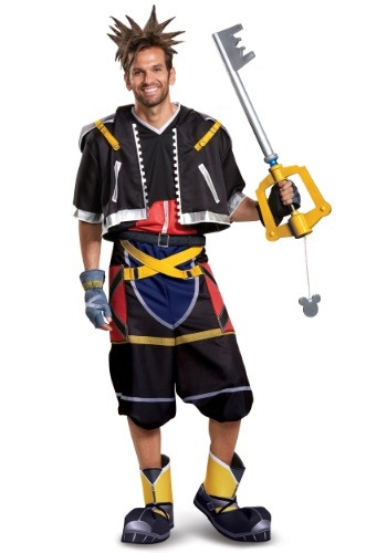 Kingdom Hearts Adult Sora Deluxe Costume