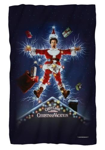 Christmas Vacation Lightweight Fleece Blanket