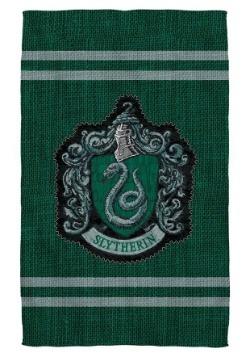 Harry Potter Slytherin Stitch Crest Bath Towel