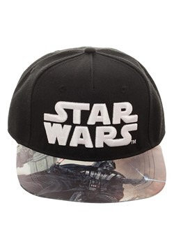 Star Wars Darth Vader Printed Vinyl Bill Flatbill Hat