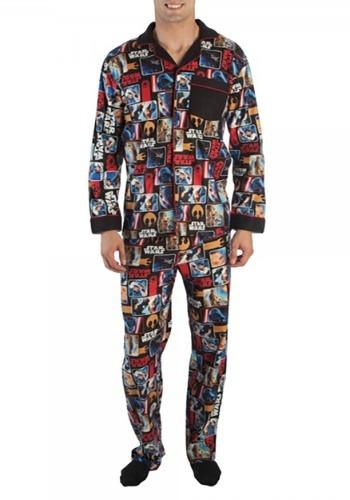 Star Wars All Over Comic Print Pajama Set