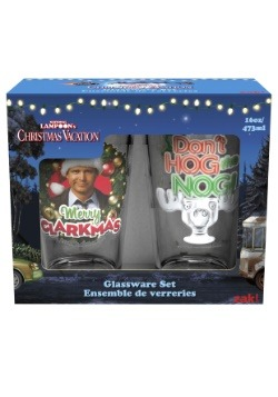 Christmas Vacation 2pc Glasswear Set