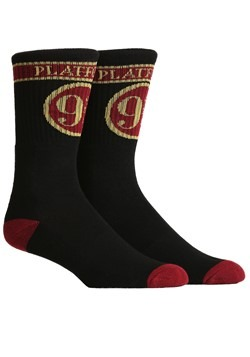 Harry Potter Platform 9 3/4 Premium Crew Socks