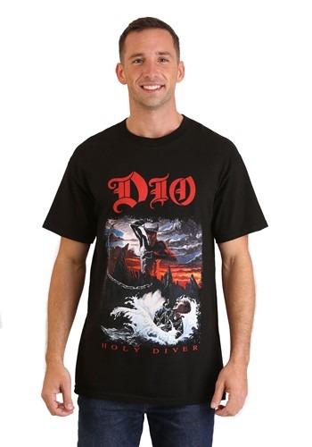 Mens DIO Holy Diver Black T-Shirt