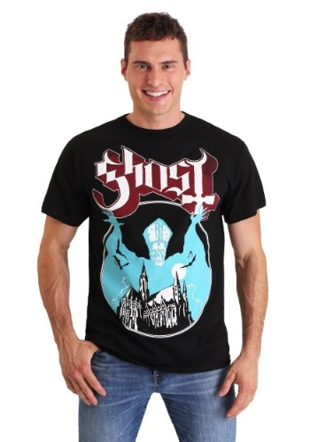 Mens Ghost Opus Black T-Shirt