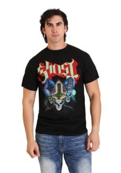 Mens Ghost Trinity Black T-Shirt