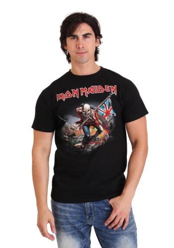 Mens Iron Maiden The Trooper Black T-Shirt