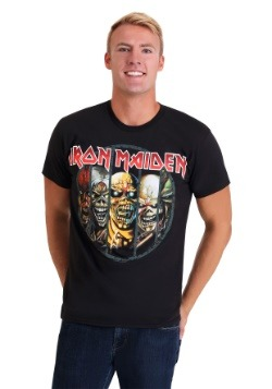 Mens Iron Maiden Eddie Evolution Black T-Shirt