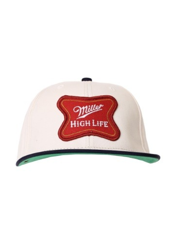 Miller High Life Logo Cotton Twill Snapback Hat