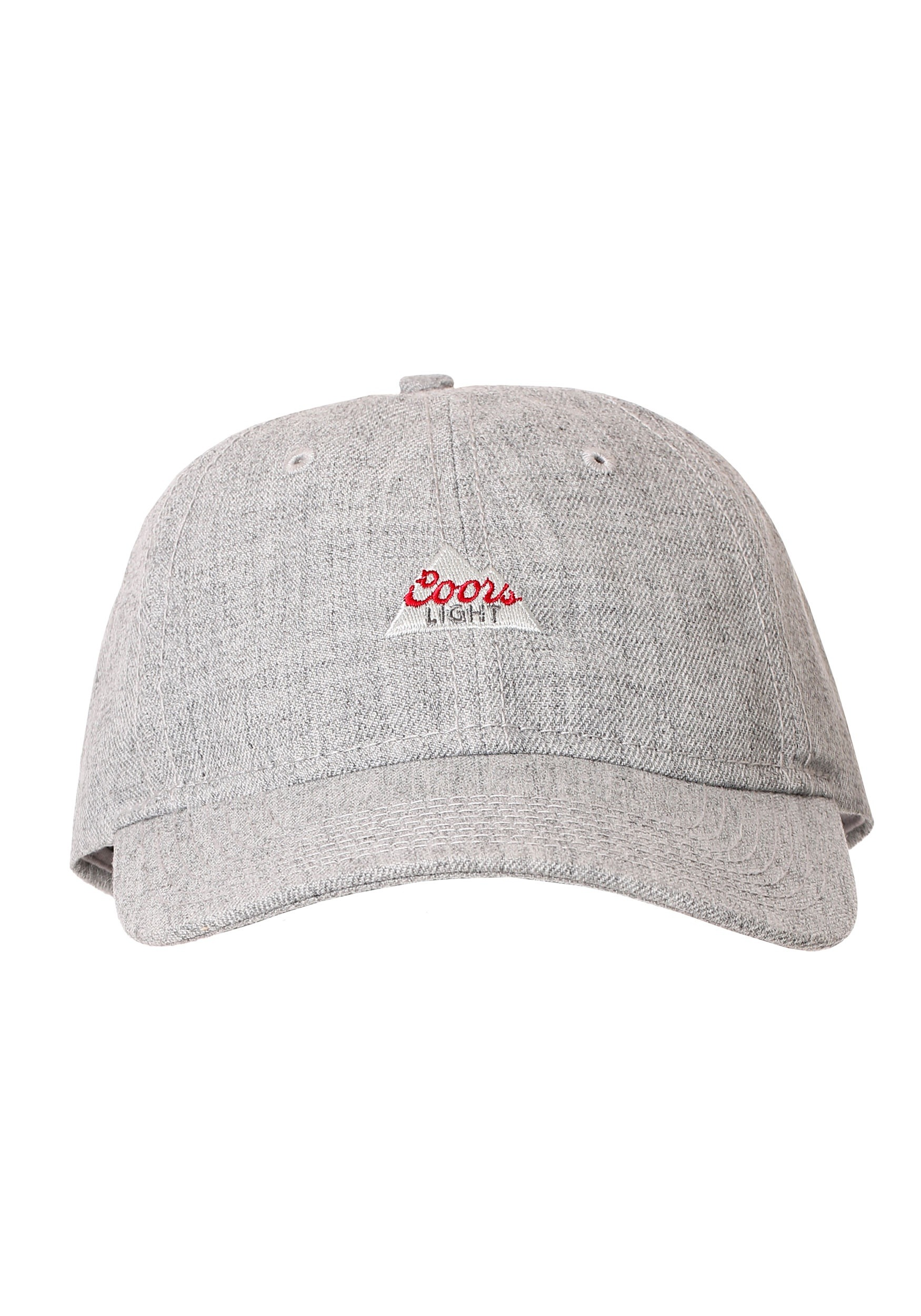 bd10f17077d23 Coors Light Logo Heather Grey Dad Hat