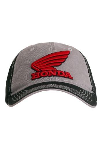 Honda Powerwing Black/Grey Baseball Snapback Hat