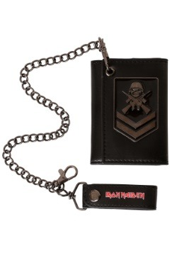 Iron Maiden A Matter of Life and Death Chain and Wallet